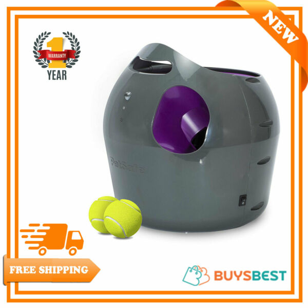 PetSafe Automatic Ball Launcher - Dog Outdoor Tennis Ball Thrower - PTY19-15850