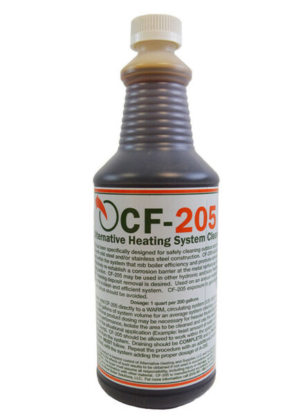 CF205 System Cleaner amp; Flush For Outdoor Wood Boilers $28.87