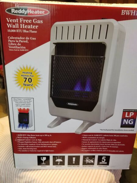Vent Free Gas Wall Heater