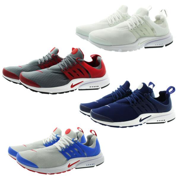 Nike 848187 Mens Air Presto Essential Low Top Running Training Shoes Sneakers