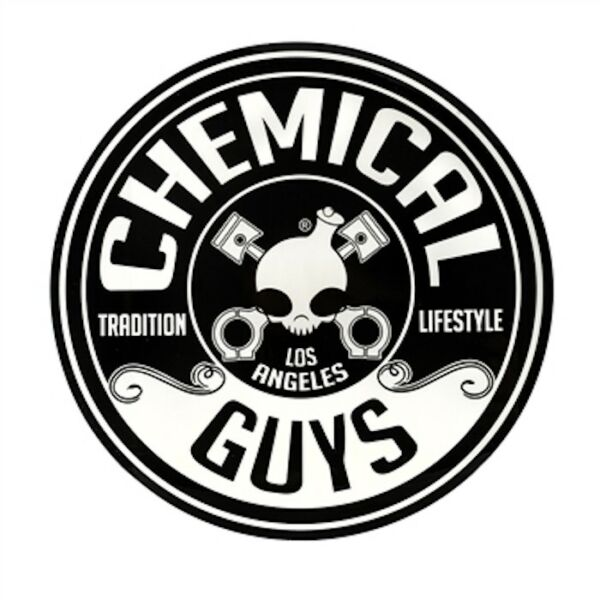 Chemical Guys Logo Wax Car Auto Black Vinyl Decal Sticker 5