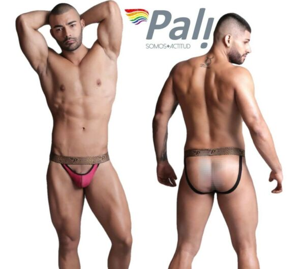 Sexy Backless Jockstrap For Men Open Rear amp; Front Mesh Underwear Mini Pouch