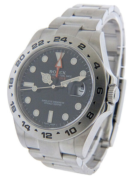 Rolex Explorer II 216570 Circa 2009 Pre-Owned Papers and Tag
