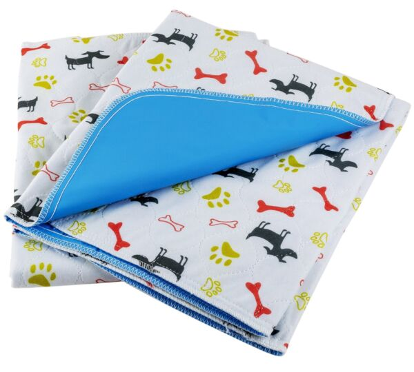 Washable Dog Pee Pads 2 Pack Fast Absorbing Reusable Training Puppy Pads 28
