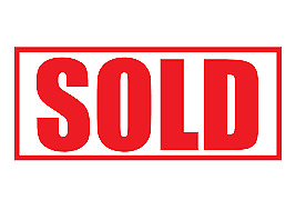 SOLD decal sticker x10 custom color size used car lot dealer auction dealership
