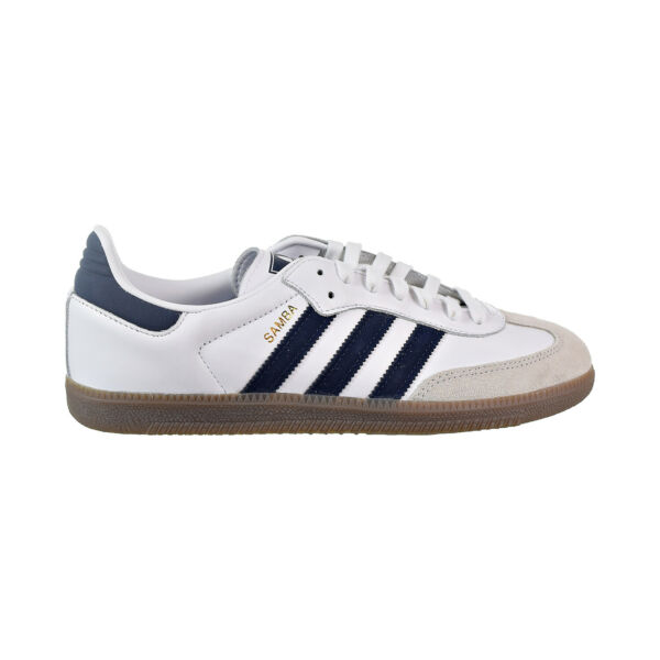Adidas Samba OG Men's Shoes Cloud White/Collegiate Navy/Crystal White B75681