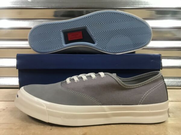 Converse Jack Purcell JP Signature Canvas OX Shoes Dolphin Gray SZ ( 153593C )