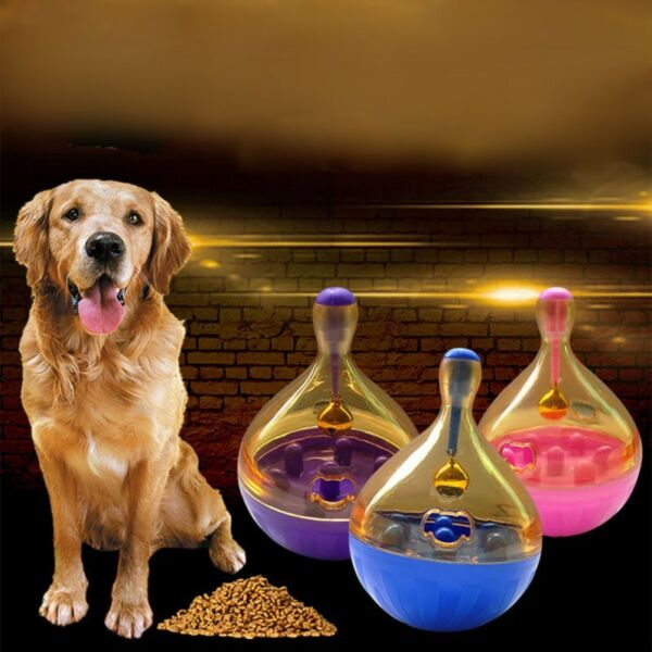 Pet Dog Interactive Toy Treat Ball Puppy Kitty Puzzle Food Dispenser Smart Toy