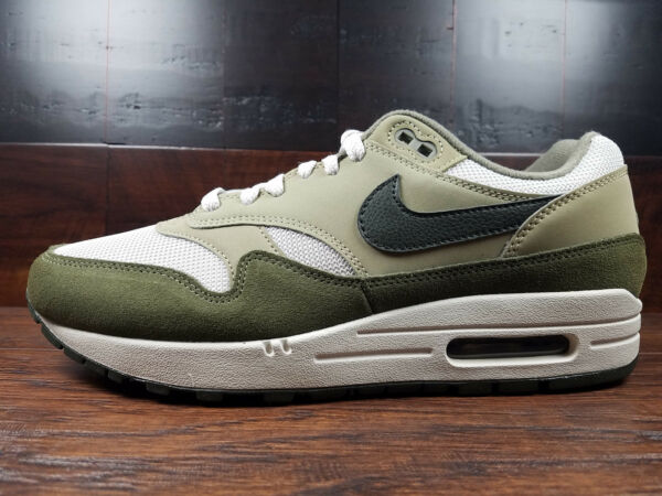 Nike Air Max 1 (Medium Olive/Sequoia) Military Green [AH8145-201] Size 8-13
