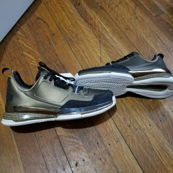 Adidas D Lillard BHM Mens Basketball Trainers Shoes Sneakers Brown size 8