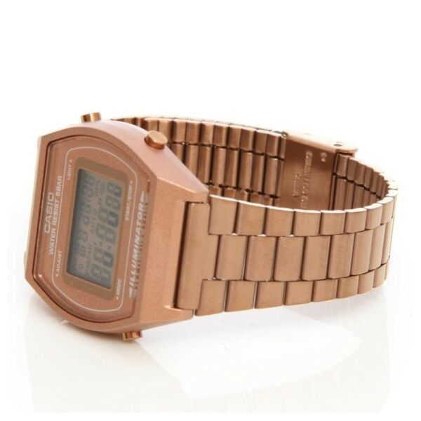 Casio Classic B640WC-5A Rose Gold Watch, sport ,water resist