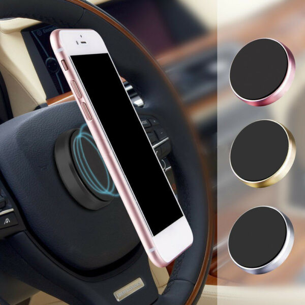 Magnetic Support Phone GPS Car Dashboard Holder Cradle Stand Adhesive Accessory