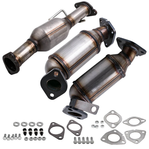 CATALYTIC CONVERTER FOR 2009-2017 GMC ACADIA 3.6L V6 ALL 3 LEFT RIGHT REAR