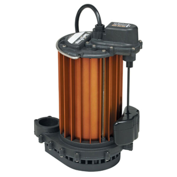 Auto Submersible Sump Pump 12HP 115V Liberty 457 Magnetic Vertical Float Switch
