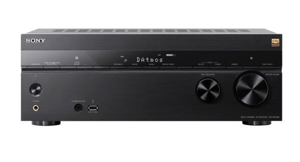 Sony STR-DN1080 7.2ch 4K Dolby Atmos Wi-Fi Network AV Receiver 6-in/2-out HDMI