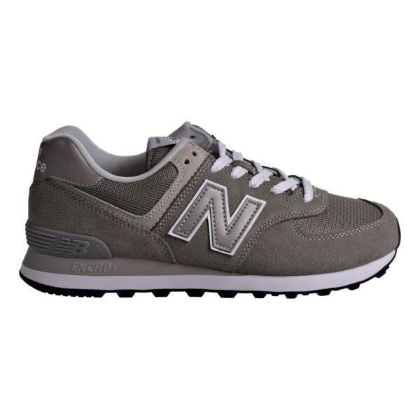 New Balance 574 Men's Shoes Grey-White ML574-EGG