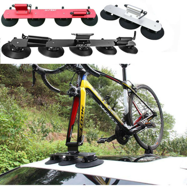 Bike Rack for Car Quick Installation 2 Bike Suction Roof Top Car Bicycle Racks $185.99