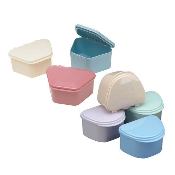 Dental Denture box case carrier assorted color Ship from Chicago AD1171