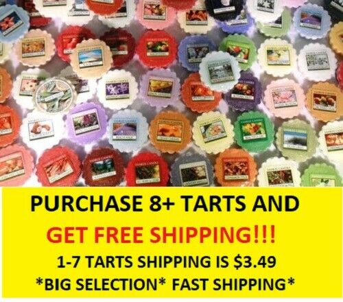 ☆☆YANKEE CANDLE WAX MELT TART SINGLES☆☆MUST BUY 7 OR MORE FOR FREE SHIPPING☆☆NEW
