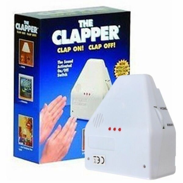 The Clapper Sound Activated LED Switch On/Off Clap Electronic Gadget Plug DIY MR