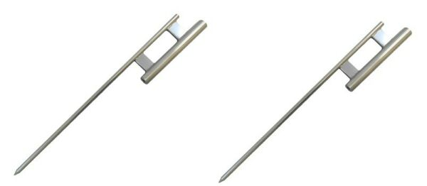 2 pack Ground Spike for Swooper Pole Feather Flag Windless Pole Pole Holder