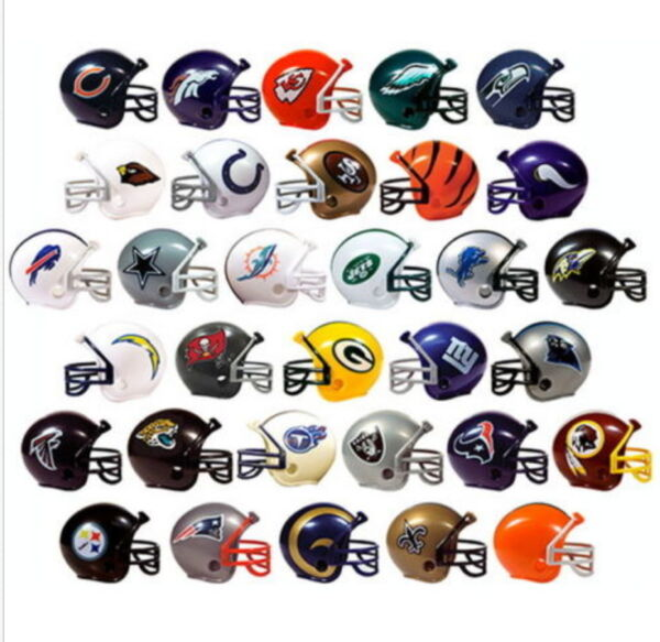 MINI NFL FOOTBALL HELMETS COLLECTIBLE COMPLETE SET OF ALL 32 TEAMS Fast Ship
