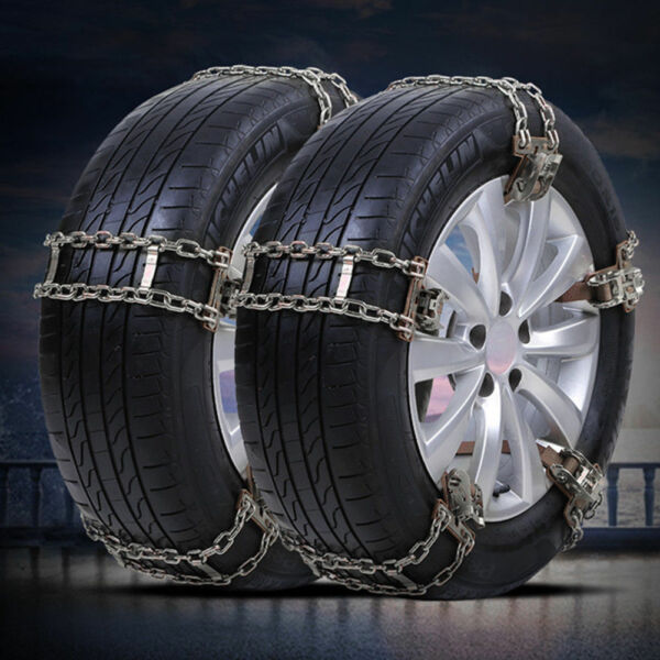 10PCS Wheel Tire Snow Anti-skid Chains for Car Truck SUV Emergency Universal US