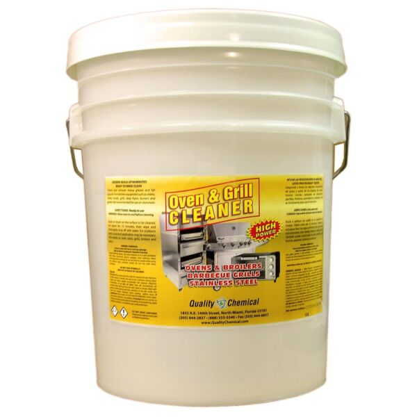 Oven & Grill Cleaner Heavy-Duty. High Power - 5 gallon pail