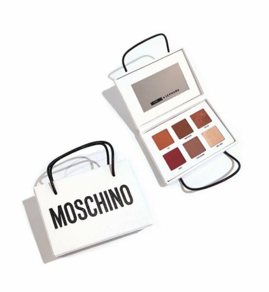 BRAND NEW Moschino Sephora Shopping Bag Limited Edition Eyeshadow Palette $42.99