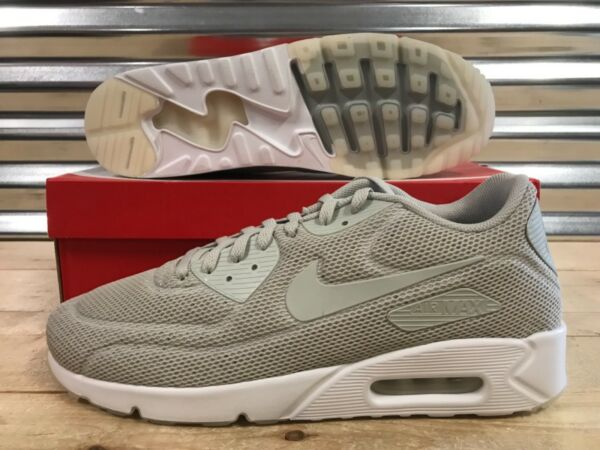 Nike Air Max 90 Ultra 2.0 BR Running Shoes Pale Grey White SZ ( 898010-002 )