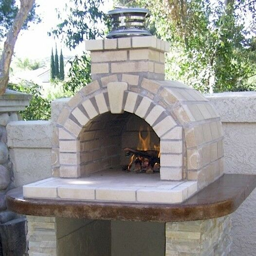 Outdoor Fireplace Kits or Outdoor Pizza Oven Kits? Build a Backyard Pizza Oven