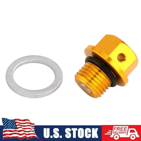 Magnetic Engine Oil Drain Bolt Plug For Suzuki RM125 RM250 RMZ250 DRZ 70 100 250