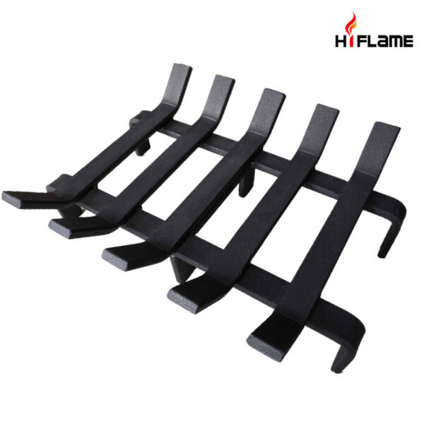 HiFlame Fireplace Log Grate 13 x 10  Inch Steel Heavy Duty Firewood Holder HFG13