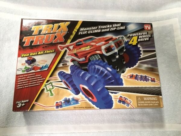 New Trix TruX Monster Truck 4-Wheel Drive Toy Tristar Product In Box Present R26