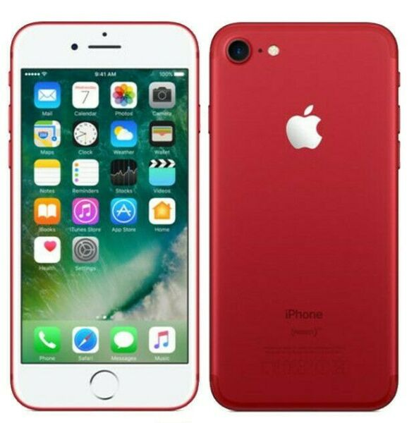 Apple iPhone 7 | 128GB | RED | LTE CDMA/GSM | Unlocked | Excellent Condition