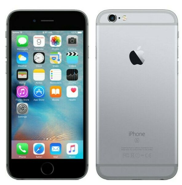 Apple iPhone 6s, 16GB, Space Gray, Fully Unlocked | Excellent Condition