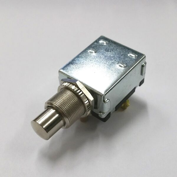 NEW SPST 15A 12V DC OFF - (ON) Automotive Marine Momentary Push Button Switch