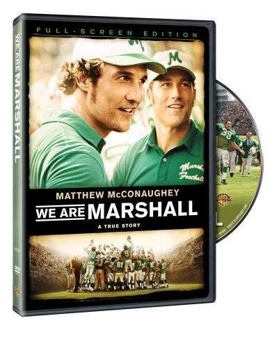 We Are Marshall Full Screen Edition DVD By Warner Marshall Crew VERY GOOD $3.89