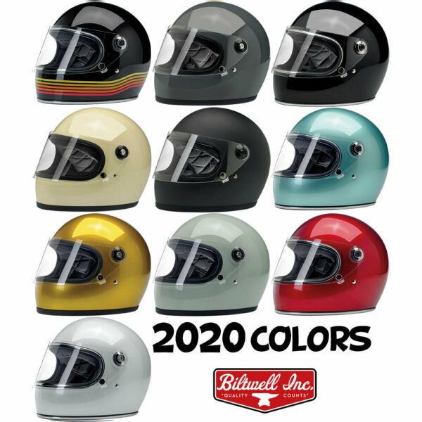 2019 Biltwell Gringo S Helmet DOT ECE - All Colors Sizes IN-STOCK READY TO SHIP