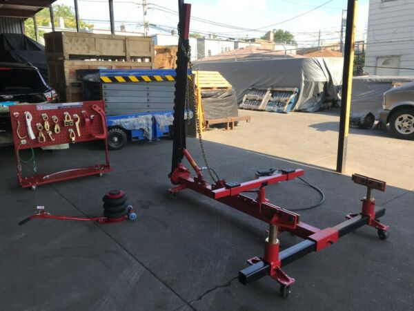 Portable Auto Body Puller Frame Straightener free clamps free 3 Ton Air Jack $2449.00