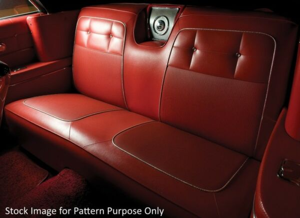 1962 Chevrolet Impala & SS Coupe Rear Seat Cover