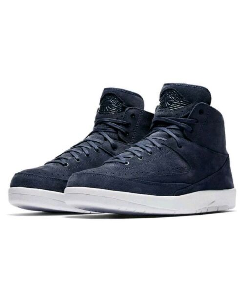 Nike Air Jordan 2 Retro Deconstructed Size 10 Thunder Blue White 897521-402