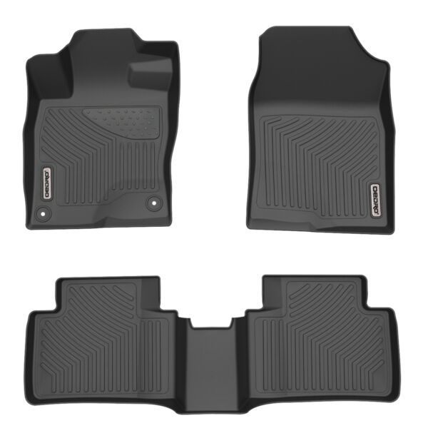 OEDRO Floor Mats Fit for 2016-2020 Honda Civic Sedan Hatchback Custom Liners