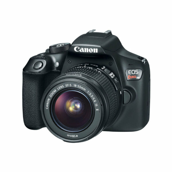 Canon EOS Rebel T6 DSLR Camera with EF-S 18-55mm f3.5-5.6 IS II Lens