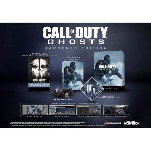 Call of Duty: Ghosts - Hardened Edition PS3 [Brand New]