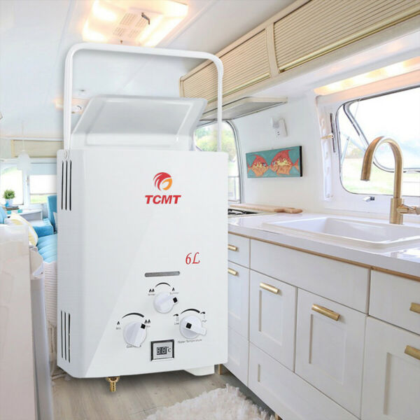 Portable LPG Propane Gas Hot Water Heater 6L Tankless Instant Boiler Outdoor RV $69.50