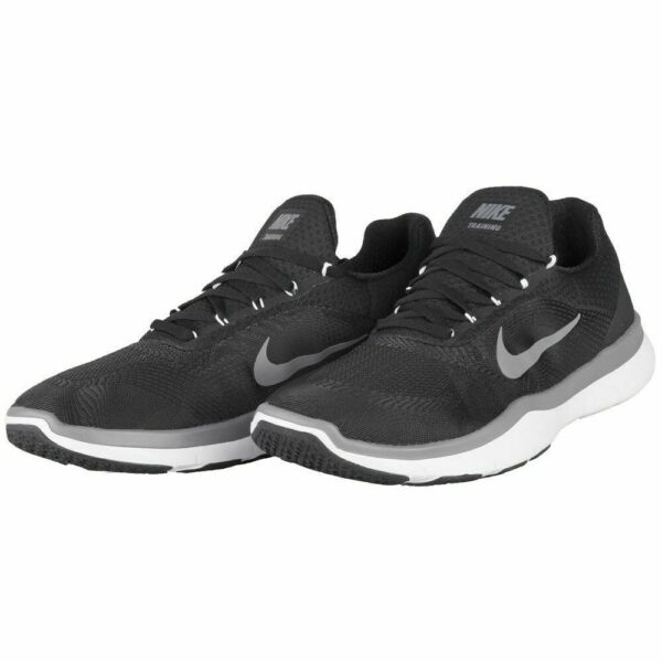 New - Nike Men's Free Trainer V7 Black Dark Gray White Athletic Shoes  PICK SIZE