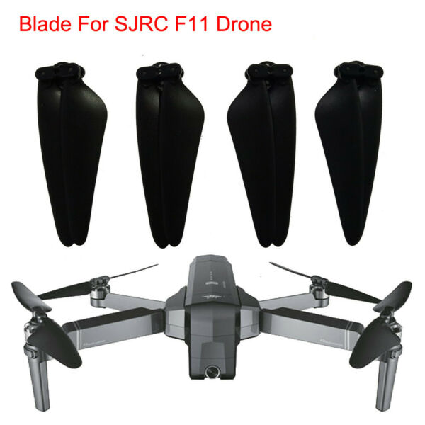 New 4pc Spare Parts CW&CCW Propeller Blade For SJRC F11 GPS RC Quadcopter Drone