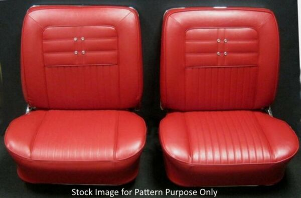 1963 Chevrolet Impala & SS Front Bucket Seat Covers