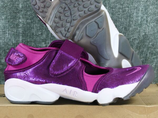 Nike Women's Air Rift sangria/wineberry-white - retro 2010 6 8 9 running wmns